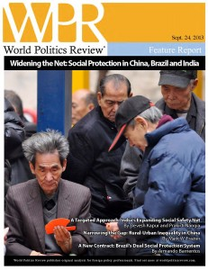 World Politics Review cover